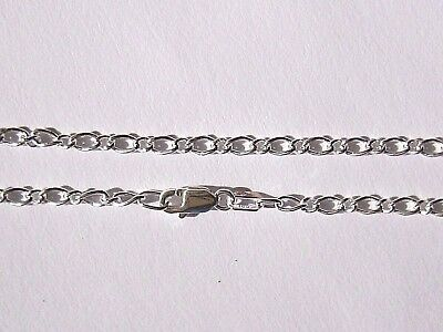 NEW Genuine Solid 925 Sterling Silver Oval Figaro 1.1 Anklet 25 cm or 27 cm Long