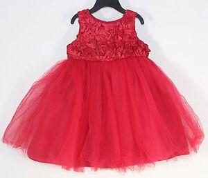image is loading toddler girls cherokee red full tutu tulle sparkly - Toddler Girls Christmas Dress