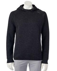 21fa9c14569 FILA SPORT Men s Fleece 2.0 Black Twisted Gray Pullover Hoodie ...