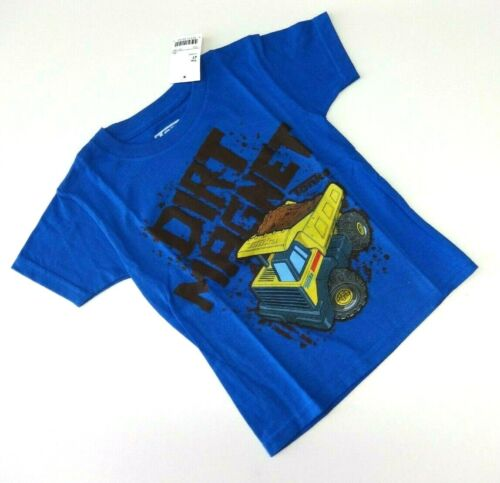 TONKA T-shirt 104//110 BLU USA size 4 TRUCK Kipper ragazzo baufahrzeug Estate Nuovo