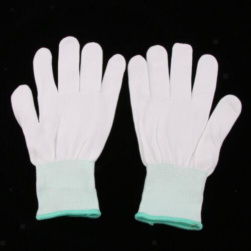 10Pairs PU-Fingerspitze ESD beschichtet antistatisch rutschfeste Handschuhe PC