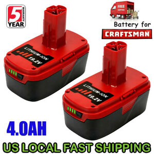 Replace-For-19-2V-Craftsman-Lithium-Battery-C3-4000mAh-XCP-11375-11376-PP2030