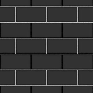 Mat White Brick Kitchen Tiles