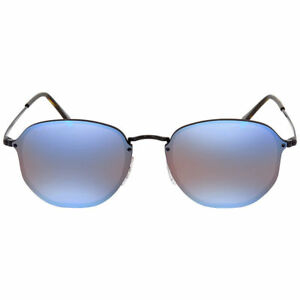 3fb9b223815 Ray Ban RB 3579N 153 7V 58mm Black Violet Blue Mirror Blaze ...