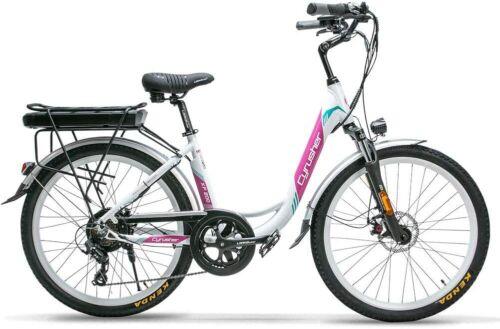 Cyrusher-XF200-48V-500W-Electric-Bike-Bicycle-for-Women-Lady-14AH-City-Bike