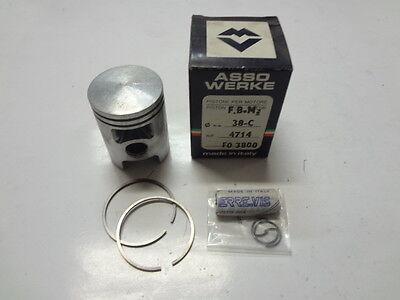 d ASSO 2843 kolben FBM MINARELLI P6 50 canna Gusseisen 39,8 mm
