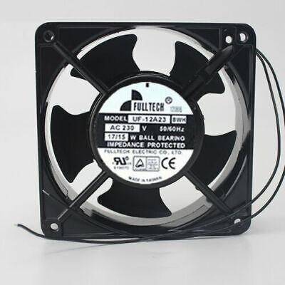 1 PCS MECHATRONIC Fan UF12A12//23 BWH AC 115//230V 12038 23//19W 2 wire