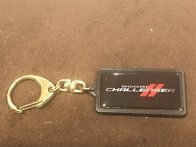 Dodge SRT8 Black Chrome Steering Wheel Keychain