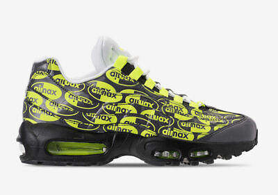 Nike Air Max 95 PRM JUST DO IT PACK Volt Trainer Running Shoes | eBay