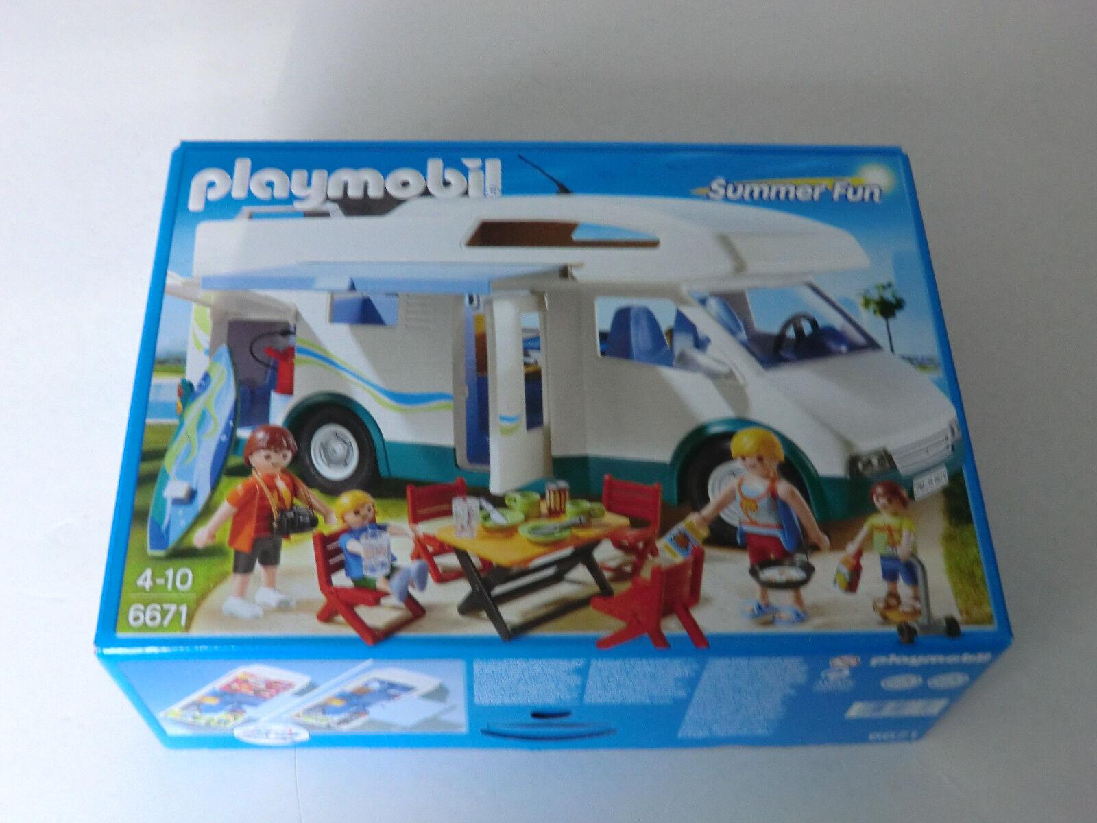 Playmobil Summer Fun  6671 Familien-Wohnmobil NEU NEU NEU OVP siehe Fotos  | eine große Vielfalt  57a256