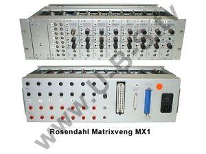 Rosendahl Matrixveng Mx1-7 X Vorverstärker Audio For Video