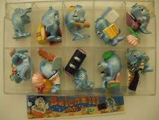 La scuola dei Balenotti Kinder sorpresa dipinti a mano 10 personaggi  (MQX)