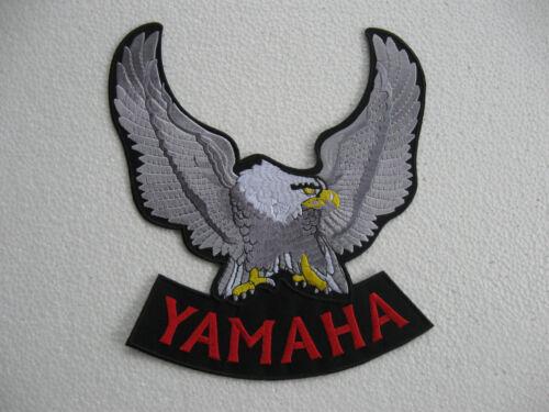 Grande schiena ricamate patch Yamaha motorcycles Biker-MC MOTOCICLISMO MOTO