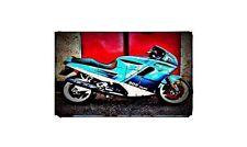 906 paso Bike Motorcycle A4 Retro Metal Sign Aluminium