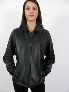Eddie s Stine Leather Classic Jacket Moto Heavy ~ Bauer Coat Black Kvalitet Ladies qwOqTr