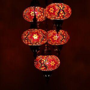 Mosaik Lampe Hangelampe Orientalische Lampe Turkei Mosaiklampe 5 L