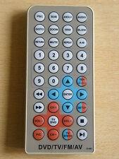 Genuine Telecomando originale per DVD/TV/FM/AV jx-48f lo stesso giorno spedizione