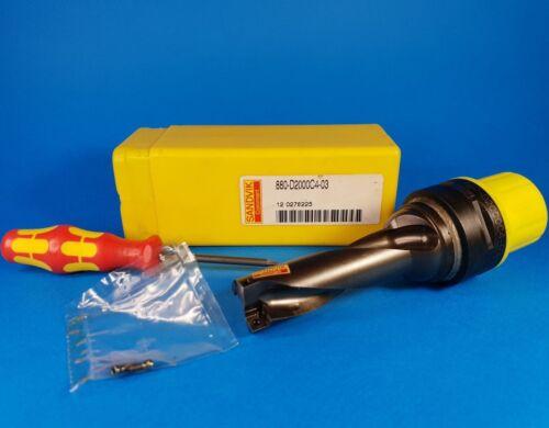 SANDVIK CoroDrill 880-D2000C4-03 indexable insert drill for 880-04.. inserts