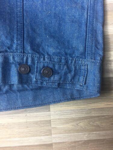 $89.50 Levi's Light Washed Denim Men's Size LARGE Blue Trucker Jacket NWT