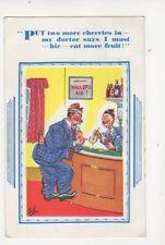 Put Two More Cherries In [HB 7429] 1957 Comic Postcard 066b