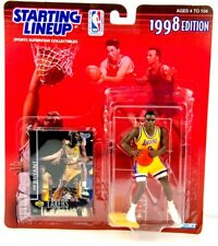 1998 Kenner Starting Lineup Kobe Bryant 3rd Year Action Figurine With Card
