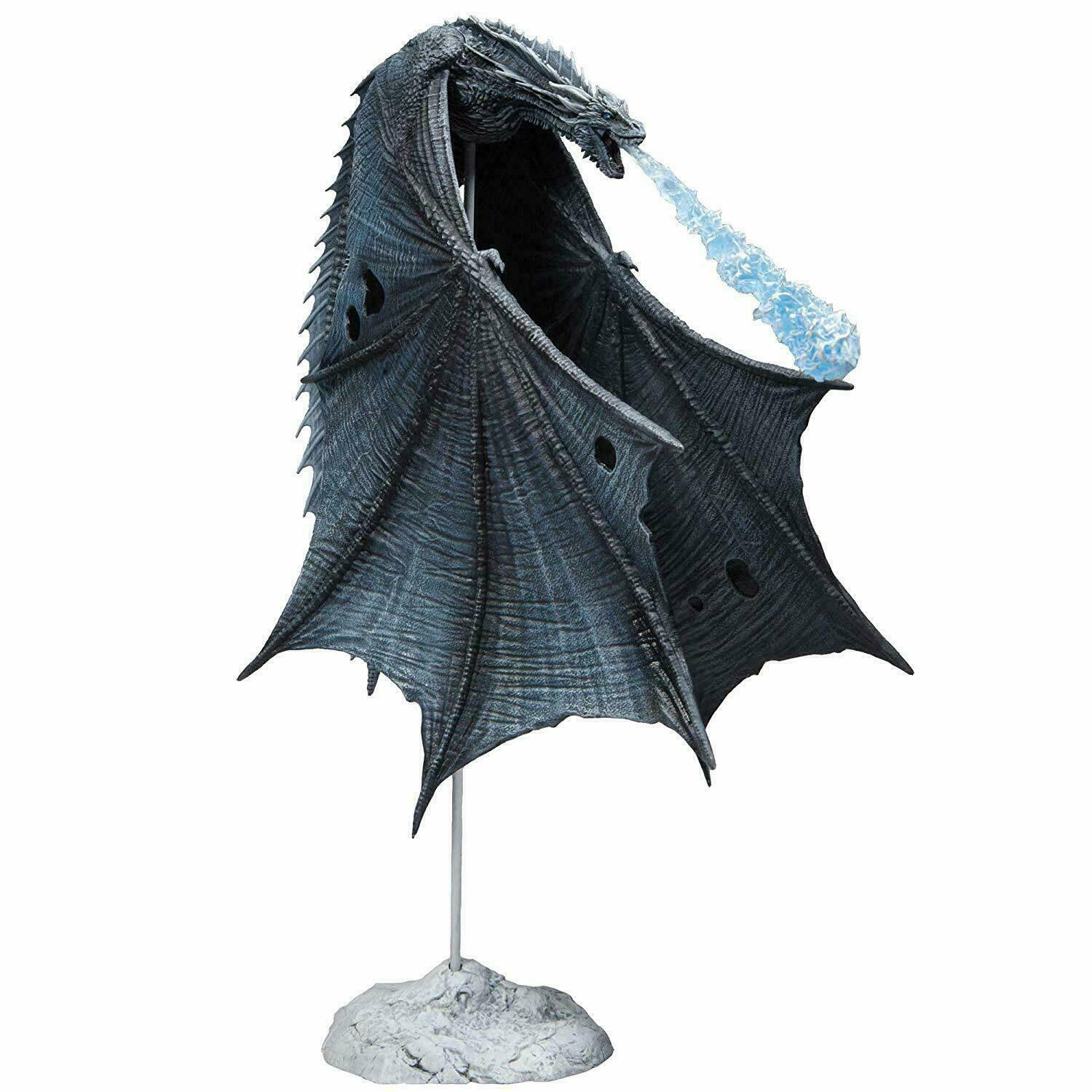 Mc Farlane Game Of Thrones Viserion (Ice Dragon) Deluxe Action-Figur New 24 CM
