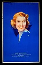 JEANETTE MACDONALD Maytime NORMA SHEARER A Yank at Oxford 1939 PORTRAITS
