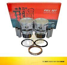 Piston Ring Set Fits 86-95 Isuzu Amigo Impulse 2.3L L4 SOHC 8v