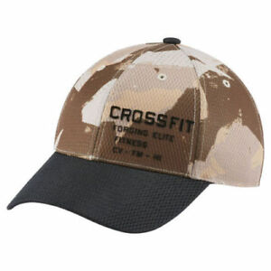 b201f6289cd Image is loading Reebok-CrossFit-Speedwick-Camo-Cap-Unisex-Baseball-Training -