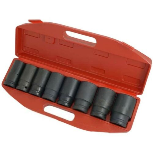 TBS0450 FREE DELIVERY 8pc Hub Nut Impact Socket Set 3//4 NEW
