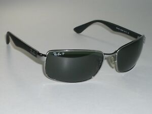 36aeab96407 RAY-BAN RB3478 004 58 63  17 130 POLARIZED CRYSTAL FLIGHT METAL ...