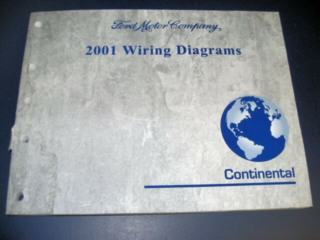 01 Ford Lincoln Continental Electrical Wiring Diagrams