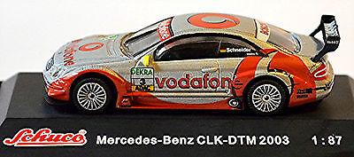 Automotive Well-Educated Mercedes Benz Clk Dtm 2003 Vodafone Amg-mercedes B.schneider #3 1:87 Schuco Easy To Lubricate