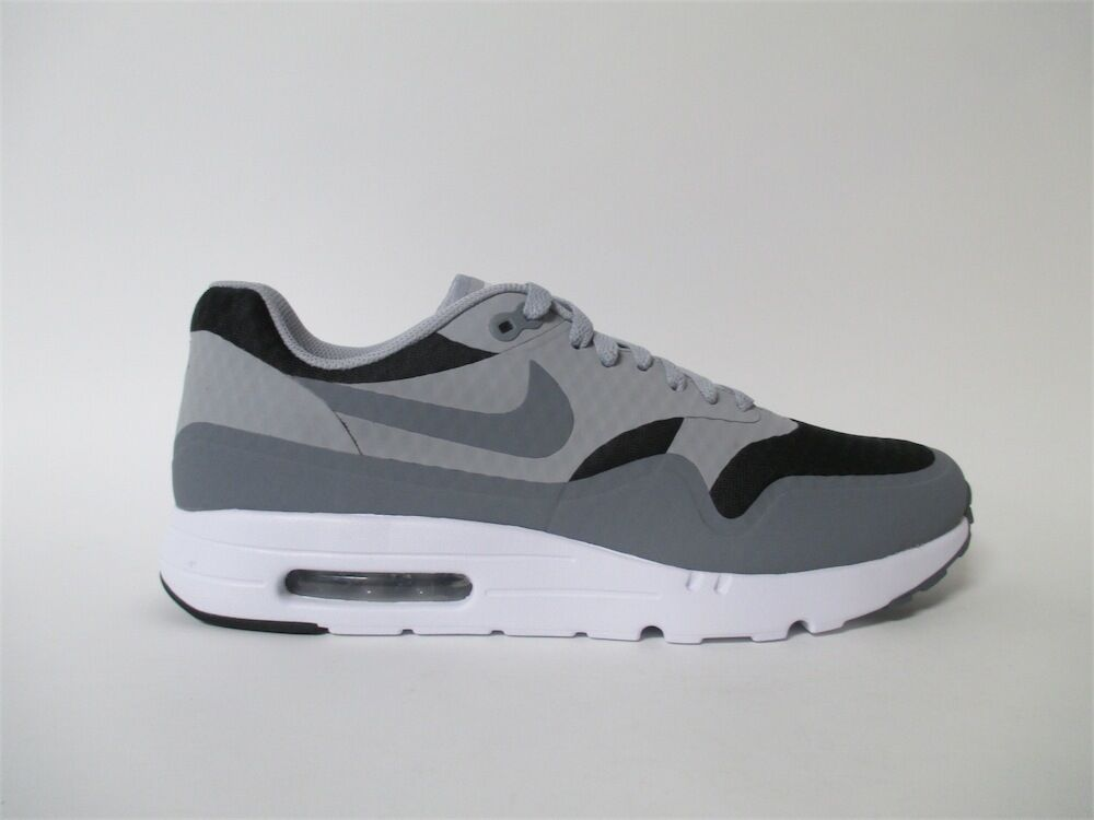 Nike Air Max 1 Cool Grey White Black Sz 9.5 819476-008