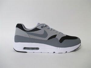 Nike Air Max 1 Cool Grey White Black Sz 10 819476-008