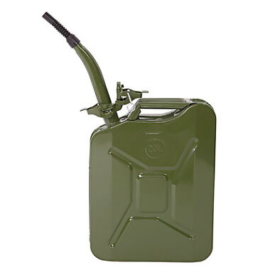 Jerry Can 5 Gal 20L Green Gas Fuel Tank
