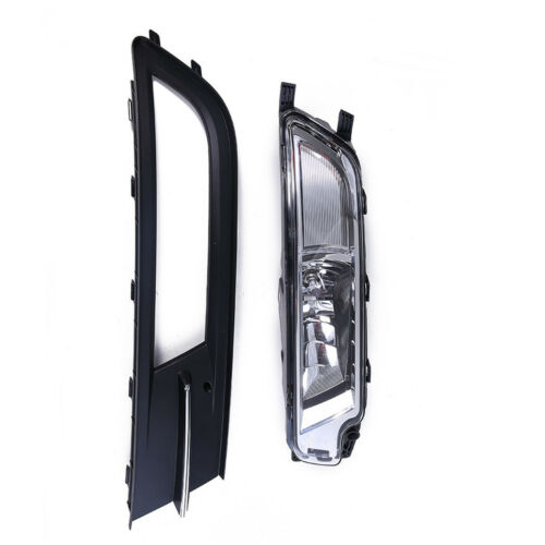 Front Right Bumper Grille with Fog Lamp Light Assembly For VW EU Passat B8 2016
