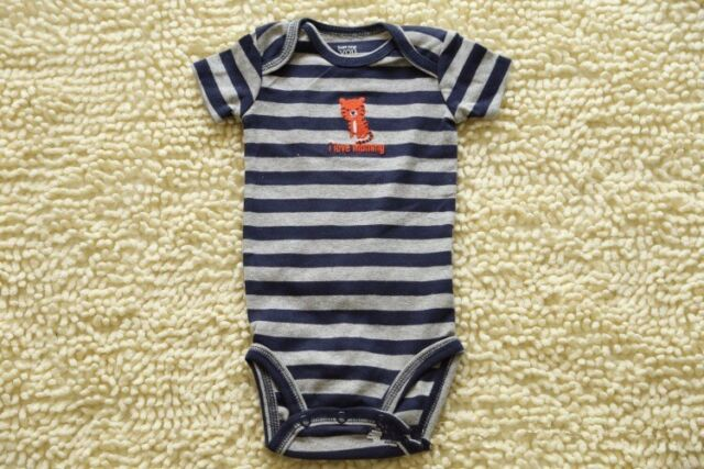 Boys Carter's Cat New Toddler Baby Romper Jumpsuit Playsuit Outfits Clothing