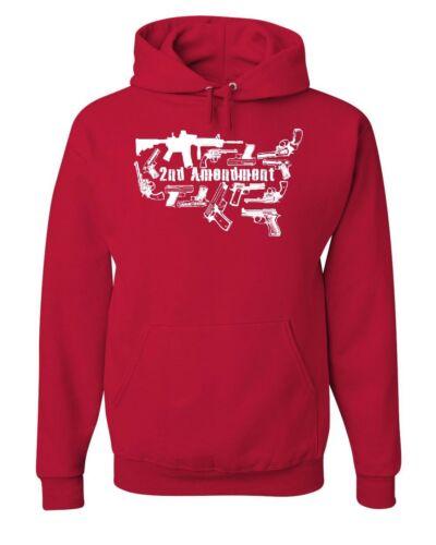 To Us Arms Sweatshirt Bear Amendment 2a Hoodie Silhouette Guns Right 2nd WXfcq5Wg