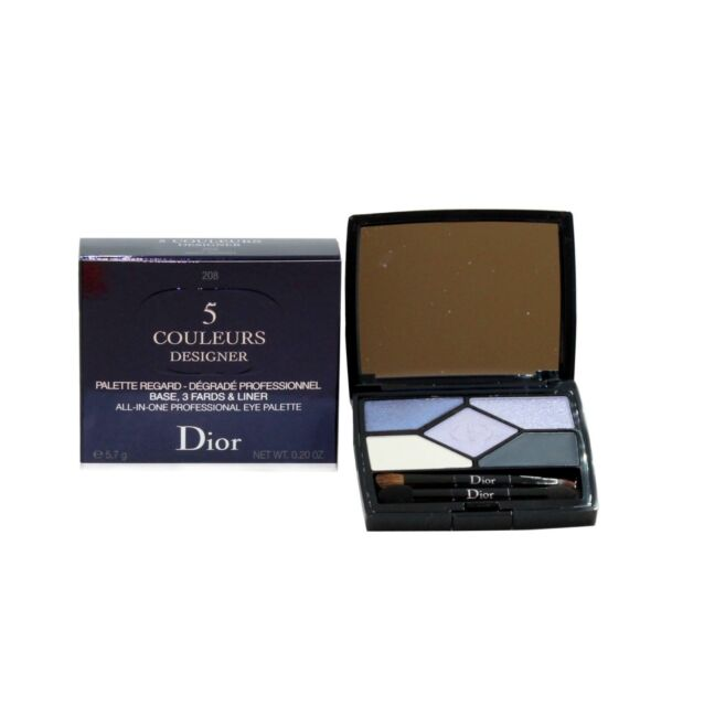 DIOR 5 COULEURS DESIGNER ALL-IN-ONE PROFESSIONAL EYE PALETTE 5.7G #208 NIB