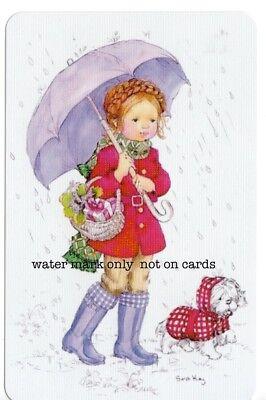 SARAH KAY swap cards blank back girls boys cats dogs flowers etc..