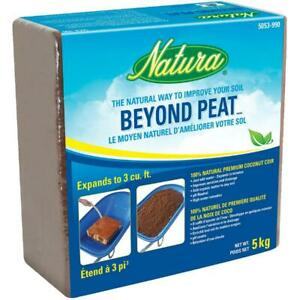 5kg Beyond Peat Coir Coconut Fibre Soil Supplement