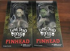 Mezco Toyz Living Dead Dolls Hellraiser III Pinhead Regular + Variant Glow Dark