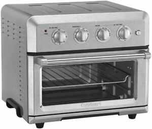Cuisinart CTOA-120PC1 1800 Watts Air Fryer Toaster Oven, Stainless Steel