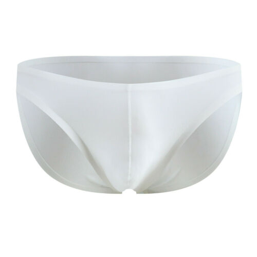 Mens Underwear Underpants Briefs Seamless Ice Silk Breathable Bulge Panty new