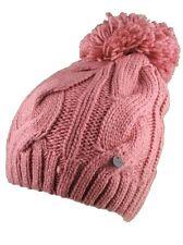 Bench Pink Lavendah Woodley Bobble Knit Pom Beanie Winter Hat Skullie