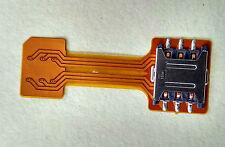 Hybrid Double Dual SIM Card Micro SD Adapter Extender (Nano SIM Adapter)