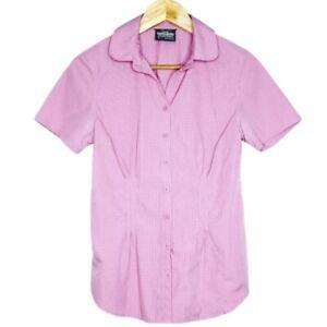 Kathmandu-No-Fly-Zone-Womens-Pink-Short-Sleeve-Shirt-Size-8