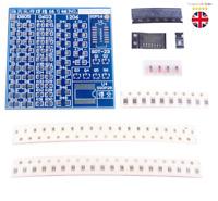 SMT SMD Component Welding Practice Board Soldering Kit Resitor Diode Transistor