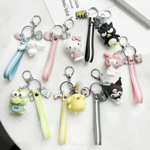 Cartoon-3D-Animal-Cute-Key-Chain-Keychain-Key-Ring-Birthday-Xmas-Gifes-Craft